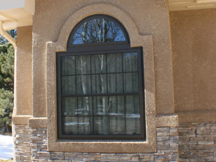 Davis Stucco Window 2