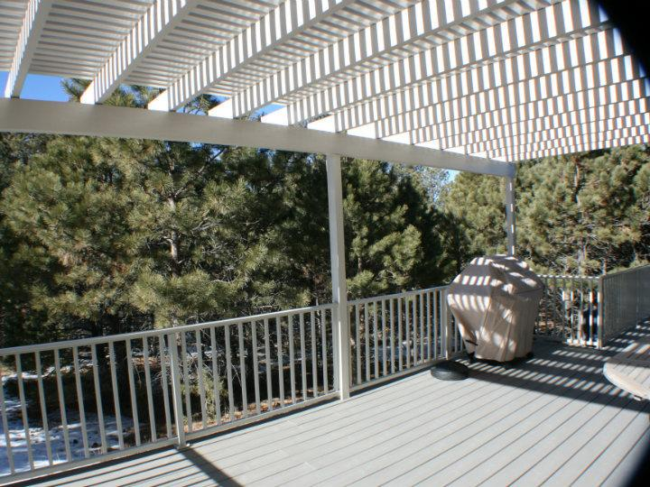 Deck Remodel With Slats For Exterior Remodel