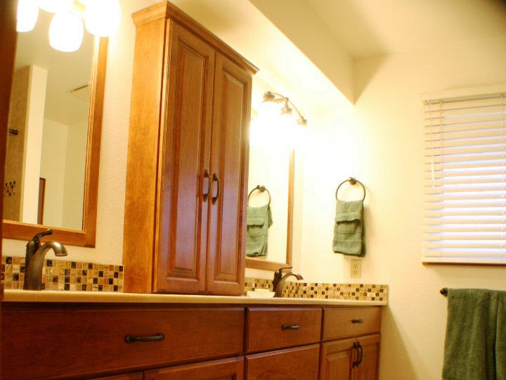 Double Vanity Remodeled Afterwards