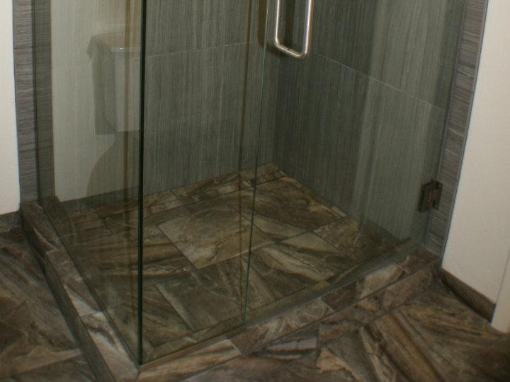 Stand In Shower With Bathroom Remodel